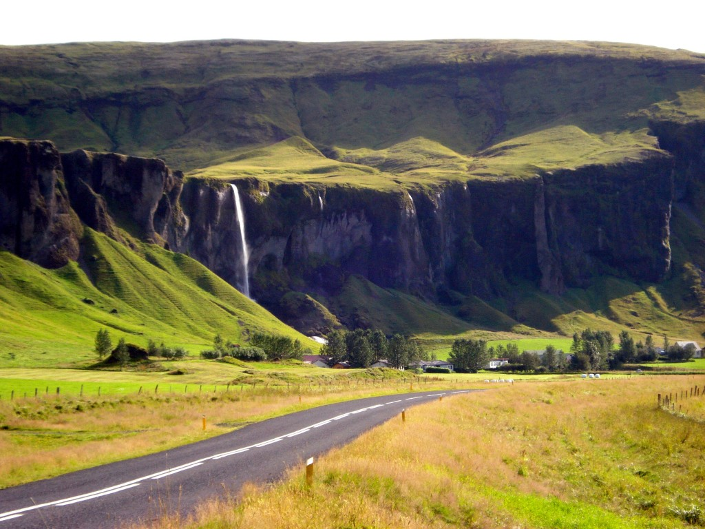 The view along the Ring Road, Southern Iceland