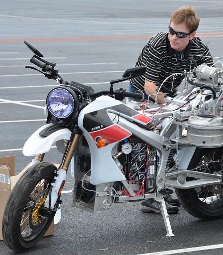 Brian pic1 bike set up at Dayton 2012 smaller