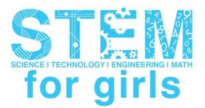 STEM for Girls blue