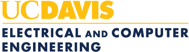 UC Davis Electrical and Computer Engineering logo