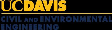 UC Davis Civil and Environmental Engineering logo