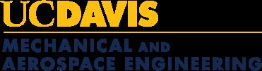 UC Davis Mechanical and Aerospace Engineering logo