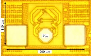 480 GHz oscillator with -7.9 dBm power in 65 nm CMOS