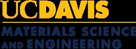 UC Davis Materials Science and Engineering logo